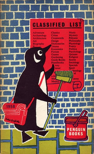 John Griffiths: John Griffiths's Penguin Classified List from 1958