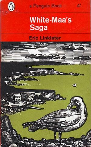 John Griffiths: John Griffiths's cover for Eric Linklater's, White Maa's Saga