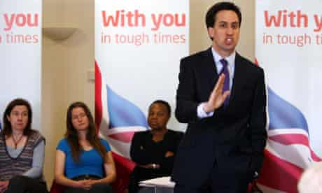 Ed Miliband launches Labour's local election campaign by saying party would repeal health reforms