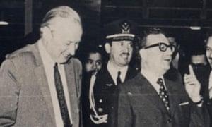 Nares Craig with Salvador Allende