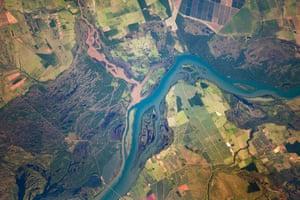 Satellite Eye on Earth: The Parana River floodplain