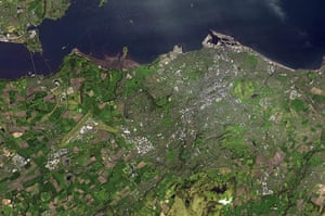 Satellite Eye on Earth: The city of Edinburgh