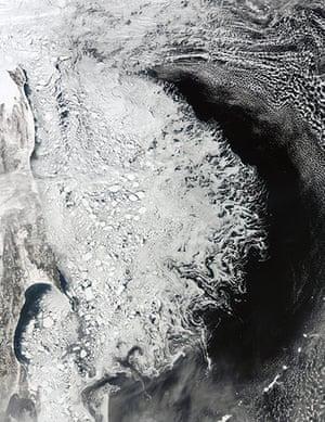 Satellite Eye on Earth: Ice on Arctic sea