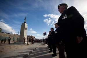 Falklands anniversary: Veterans attend the commemoration of the 30th anniversary