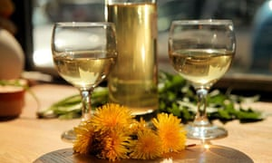 John Wright's dandelion wine