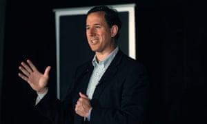 Rick Santorum in Wisconsin