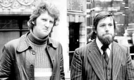Des Warren and Ricky Tomlinson, the Shrewbury Two who were jailed over a building workers' strike