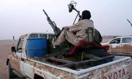 Tuareg rebels in Mali