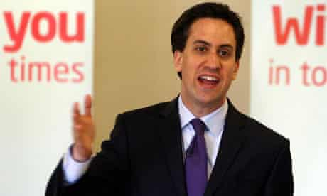 Ed Miliband launches Labour's local election campaign in Birmingham