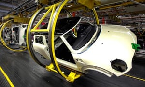 Factory orders rise helps economy to avert double dip recession