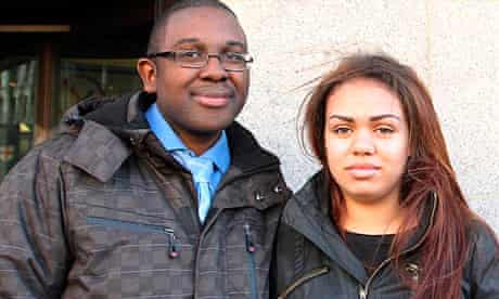 Rohan Wray and Chana al-Alas, who were cleared of murdering four-month-old Jayden