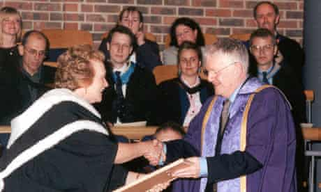 Jean Benedetti became an honorary professor at Rose Bruford College in 2001