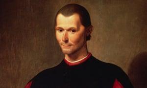 Niccolo Machiavelli by Santi di Tito