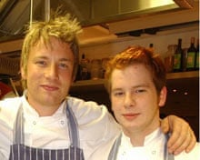 Jamie Oliver with Kevin Boyle