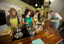 Cookery class at the Ministry of Food in Bradford, West Yorkshire