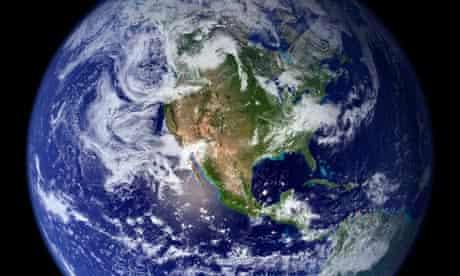 Nasa image of planet Earth