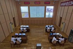 Longer view: North Korea's rocket command centre