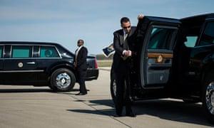 secret service cars