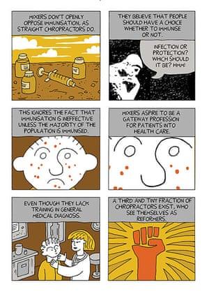 Graphic Novel: chiropractic 11