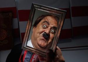 From the Agencies: Ashok Aswani examines his Chaplin make-up