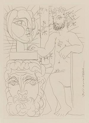 Picasso: Picasso print form the Volard Suite