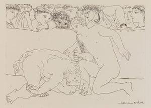 Picasso: Picasso print foorm the Vollard Suite