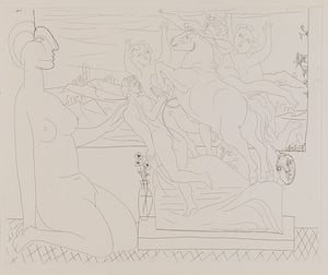 Picasso: Picasso print from the Vollard Suite