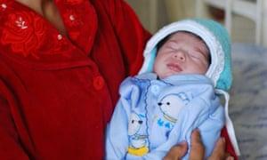 Uzbek baby