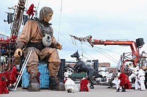 Liverpool Puppets: Sea Odyssey is a magical tale of love, loss and reunion