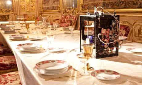 Food printer by Spanish practice GGlab in Palazzo Clerici