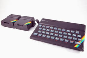 Home computers: Sinclair ZX Spectrum with ZX Microdrives
