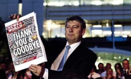 Former News of the World editor Colin Myler