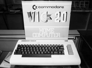 Home computers: Commodore VIC 20 home computer, 1983