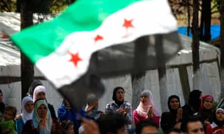 syria protest sanctions