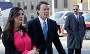 John Edwards arrives in court