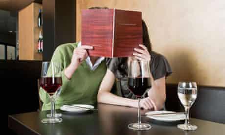 Reading a wine list