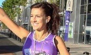 Claire Squires collapsed and died on the final stretch of the London Marathon