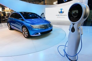 Beijing motor show: The new Denza brand all-electric concept car on display