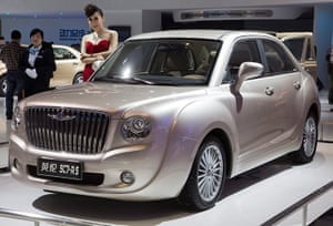 Beijing motor show: Chinese company Geely shows its Yinglun SC7-R5 model