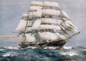 Cutty Sark: FILE PHOTO - A Look Back At The 'Cutty Sark'