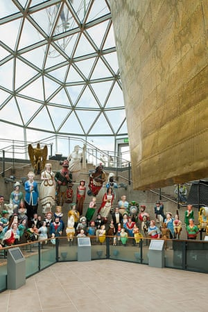 Cutty Sark: Figureheads on display in the new Cutty Sark museum
