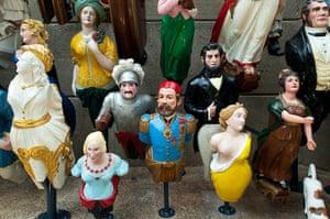 Cutty Sark: The new display of figureheads