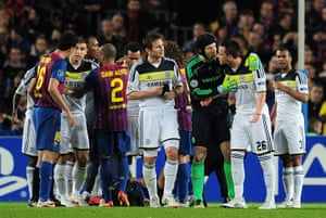 Barcelona v Chelsea: Chelsea's John Terry is sent off against Barcelona