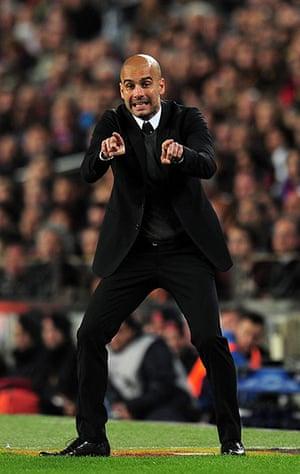Barcelona v Chelsea: Guardiola