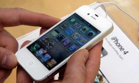 Apple iphone share