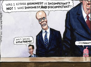 Steve Bell on the Leveson inquiry - 25.04.12