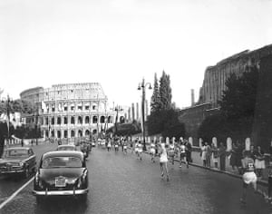 50 moments: Runners in the 1960 Olympic marathon