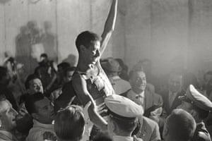 50 moments: Abebe Bikila triumphant
