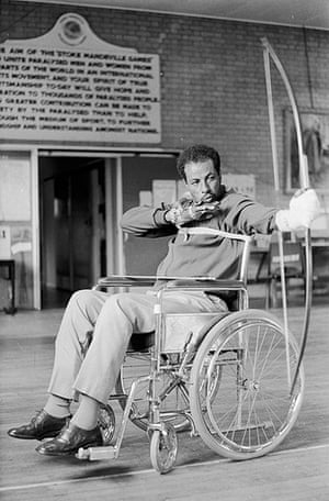 50 moments: Abebe Bikila practices for the Paralympic Games