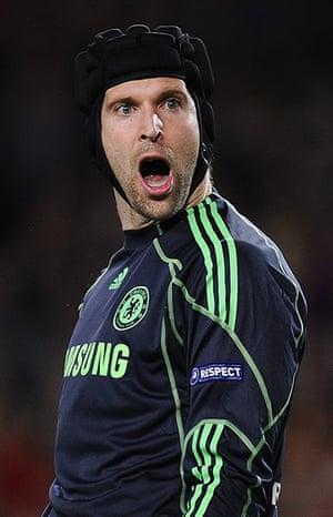 Barcelona v Chelsea: Petr Cech